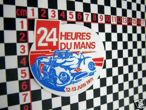 1971 LE MANS Autocollant pour une Porsche 911 914 911 S 911 T