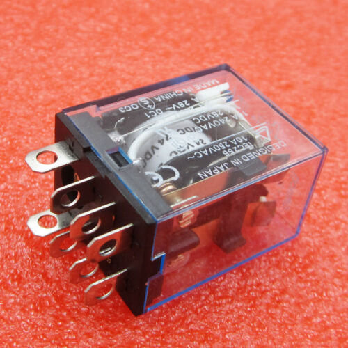 10PCS OMROM LY2NJ Smal Relays DC 24V 10A 8PIN Coil DPDT