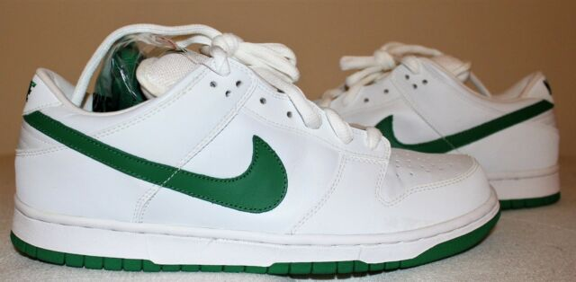 designer fashion efbb0 ff014 Nike Dunk Low Pro SB White/Classic Green Men's Size 11.5 [Style No. 304292  133]