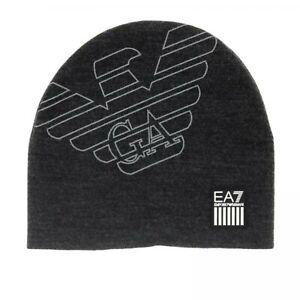 Emporio-Armani-EA7-Cappello-Berretto-Invernale-con-logo-Uomo-F-W-19-20