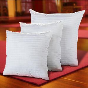 Throw Pillow Fillers : White Throw Pillow Cushion Sofa Waist Pillowcase Filler Inner Pad Square Insert eBay