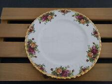 C4 Porcelain Royal Albert Country Rose Plate 27 cm 9A2G