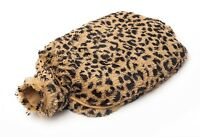 Intelex Cozy Plush Microwavable Hot Water Bottle Tawny Heatable Furry Bed Warmer