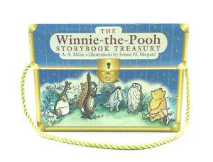 THE-WINNIE-THE-POOH-STORYBOOK-TREASURY-TREASURE-CHEST-5-BOOK-SET-NEW