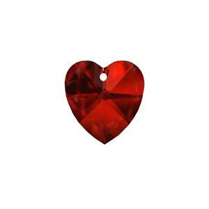Genuine-SWAROVSKI-STRASS-CRYSTAL-20mm-Bordeaux-Charm-Heart-Prism-Pendant-8781