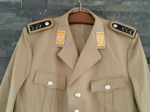 BW Uniform Sakko Luftwaffe Jacke Sakko   Bundeswehr Tropen Uniformjacke khaki 54