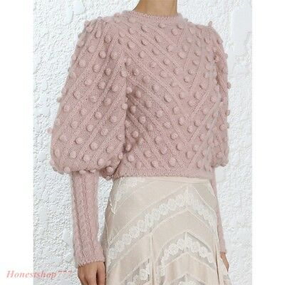 Fashion Womens Unbridled Bauble Sweater Cashmere Casual Kintting knitwear Autumn
