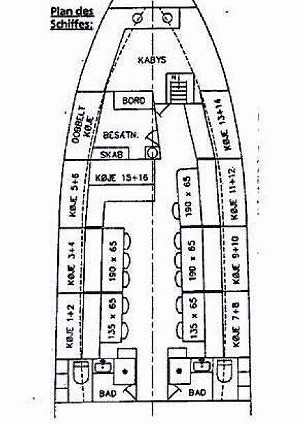 Solgt - Projektskib sælges til færdiggørelse.