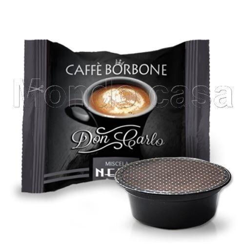 BORBONE 50 Capsule Caffè Don Carlo A modo mio Miscela Nera LAVAZZA ELECTROLUX