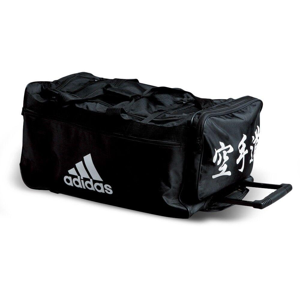 NEW adidas  Karate Team Bag BUDO Sparring Gear Trolly Bag Martial Arts Equipment  trendy