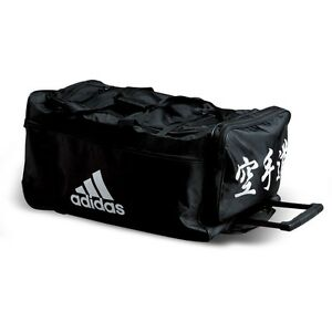 d78f4c6688 NEW adidas Karate Team Bag BUDO Sparring Gear Trolly Bag Martial ...