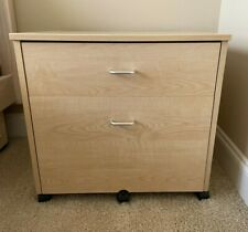 Portable Mobile Home Wooden File Cabinet Rolling Storage Cabinet Pick Only Nc