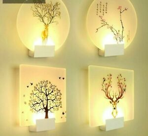 Classic Wall Lamp For Home Indoor Decor Led Bulb Light Wall Mounted Contemporary Ebay