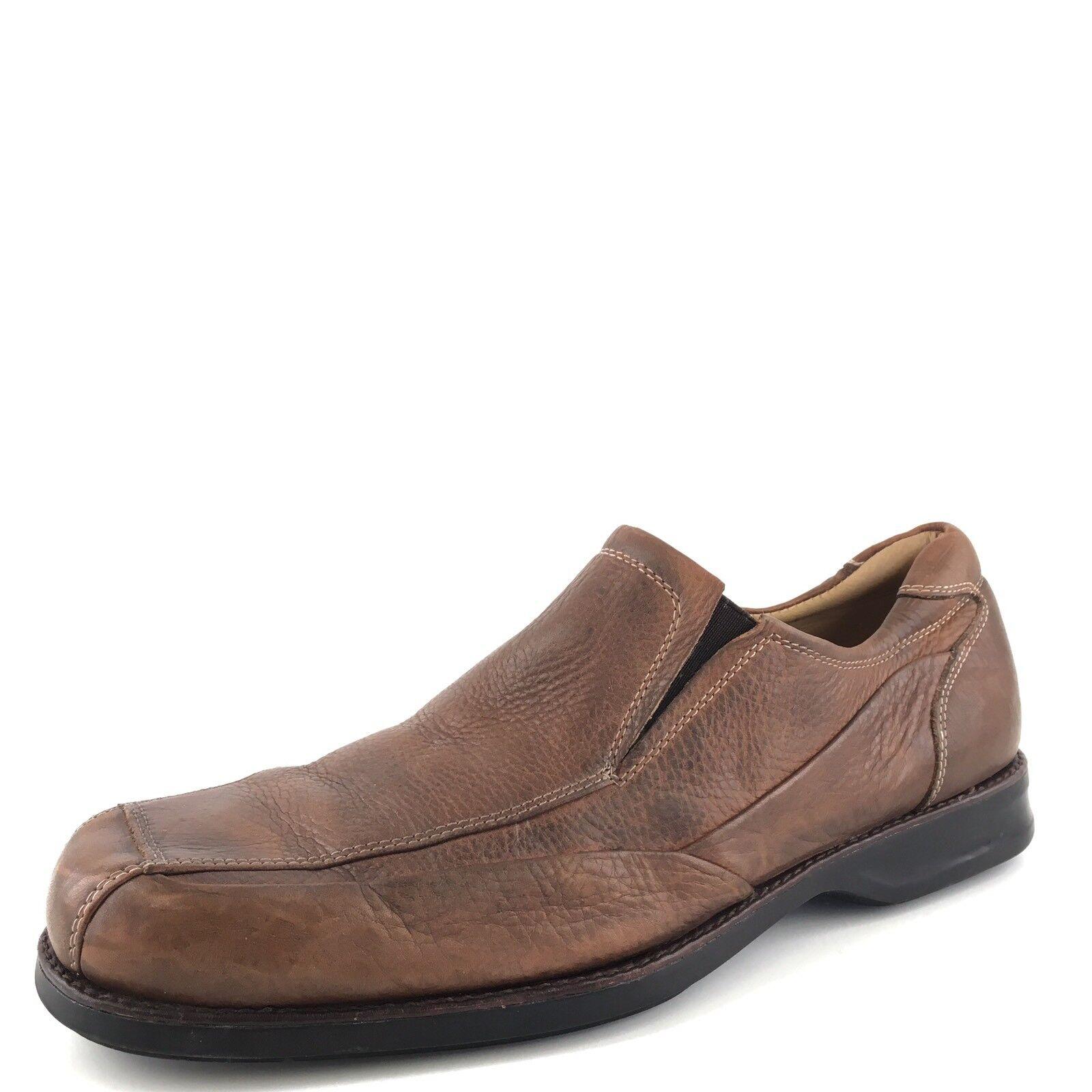 vendite calde Johnston Murphy Marrone Leather Slip On Dress Loafers Uomo Dimensione Dimensione Dimensione 11 M  risposta prima volta