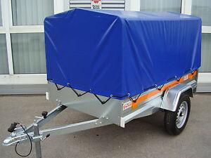 pkw anh nger mit plane 110 cm 750 kg 210x115 cm. Black Bedroom Furniture Sets. Home Design Ideas