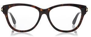 Neuf-TOM-FORD-Marron-Monture-lunettes-femme-lunettes-de-vue-tf5287-1611m5287