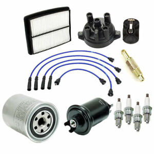 Tune Up Kit Suzuki Sidekick Geo Tracker 91-95 Air Oil Fuel Filter Cap Rotor  8V | eBayeBay