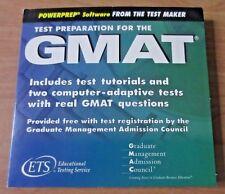 GMAT PowerPrep Test Preparation DVD (ETS)  + Higher Score on the GMAT by Kaplan