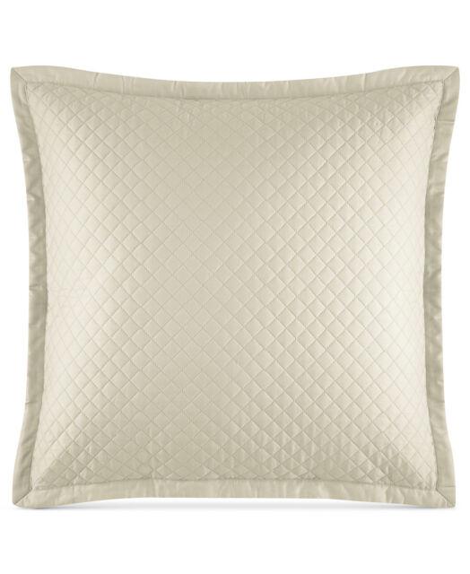 Ralph Lauren Wyatt Quilted Sateen 40 Square Decorative Pillow Interesting Decorative Quilted Pillows