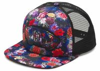 Vans Shoes Off The Wall Galaxy Floral Women's Snapbacktrucker Hat