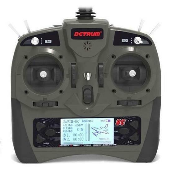 DYNAM DETRUM Gavin - 8C 8CH Radio Digital SR86A