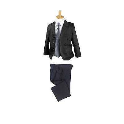 4Pcs Formal Toddler Children Boy Kids Suit Set Outfits size 000-16 Wedding Party