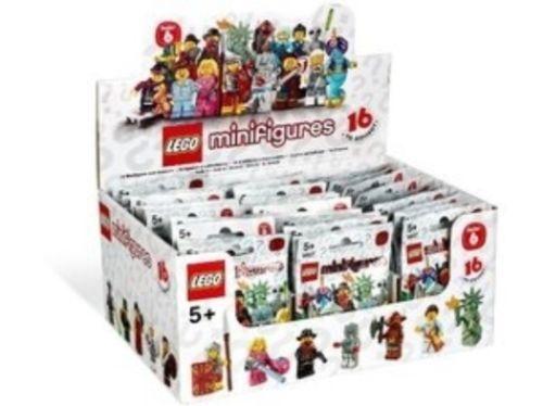 LEGO 8827 Series 6  Collectible Minicifras completare scatola of 60 nuovo & SEALED  ultimi stili
