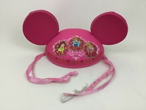 d01dd0432274d8 Princess Mouse Ears Disney Theme Parks Pink Hat Children's Souvenir ...