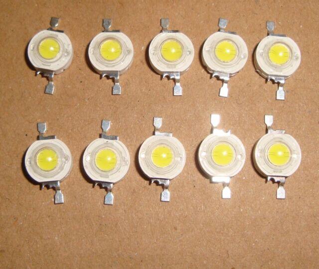 20pcs 1W LED chips warm white 110lm 0.26A, LED beads