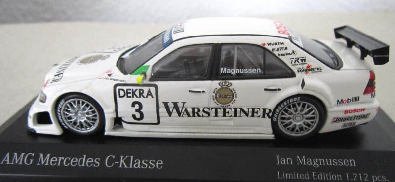 Maqueta de coche 1:43 mercedes-benz Collection Collection Collection AMG Mercedes clase C jan magnussen ec18a5