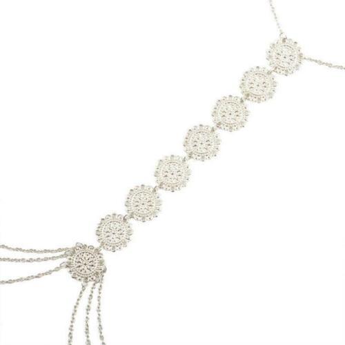 Fashion Waist Belly Body Chain Necklace Ladies Bikini Cross Harness Chain FI