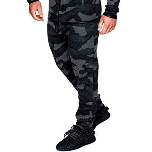Men Camouflage Jean Combat Military Army Cargo Trousers Biker Jogger Sport Pants