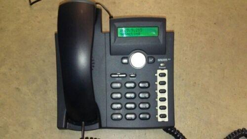 AVAYA Snom 300 SIP Business VoIP Phone 2-line Backlit LCD Display w Power 3CX