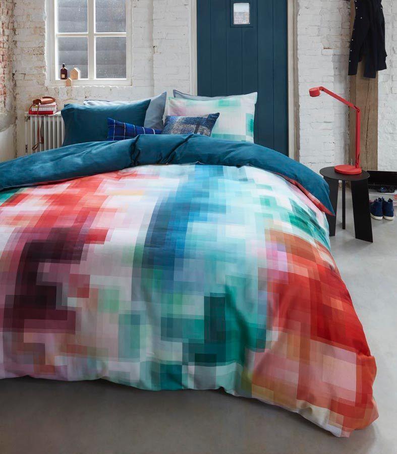 Beddinghouse Satin-Bettwäsche Palette Multi, 135x200cm - Angebot