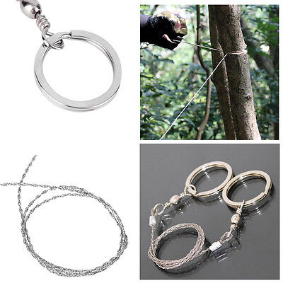 Pro Hiking Camping Stainless Steel Wire Saw Exigent Travel Survival Gear Outdoor
