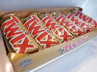 36 Twix Bars Chocolate Peanuts Fast Ship
