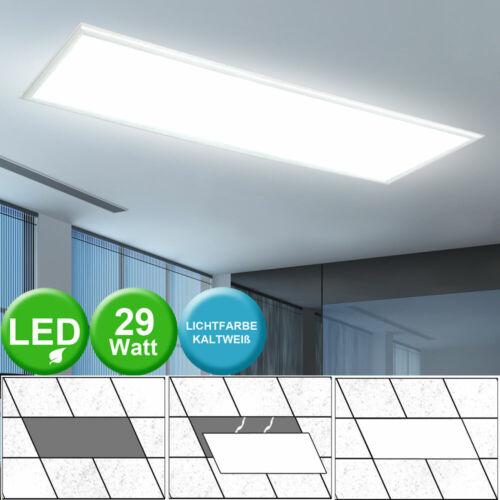 LED ALU Lampe Einbau Panel Leuchte Büro Raster Strahler Tages Licht Beleuchtung