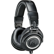 Audio-Technica ATH-M50X Professional Studio Headphones (Black)