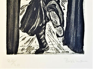 Basics Richard Smith, Untitled - Paperclip, Etching