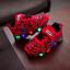 Spiderman-Bambini-Scarpe-Per-Ragazzi-Ragazze-Bambini-Luce-Luminoso-Bambino-Scarpe-da-ginnastica-mesh miniatura 3