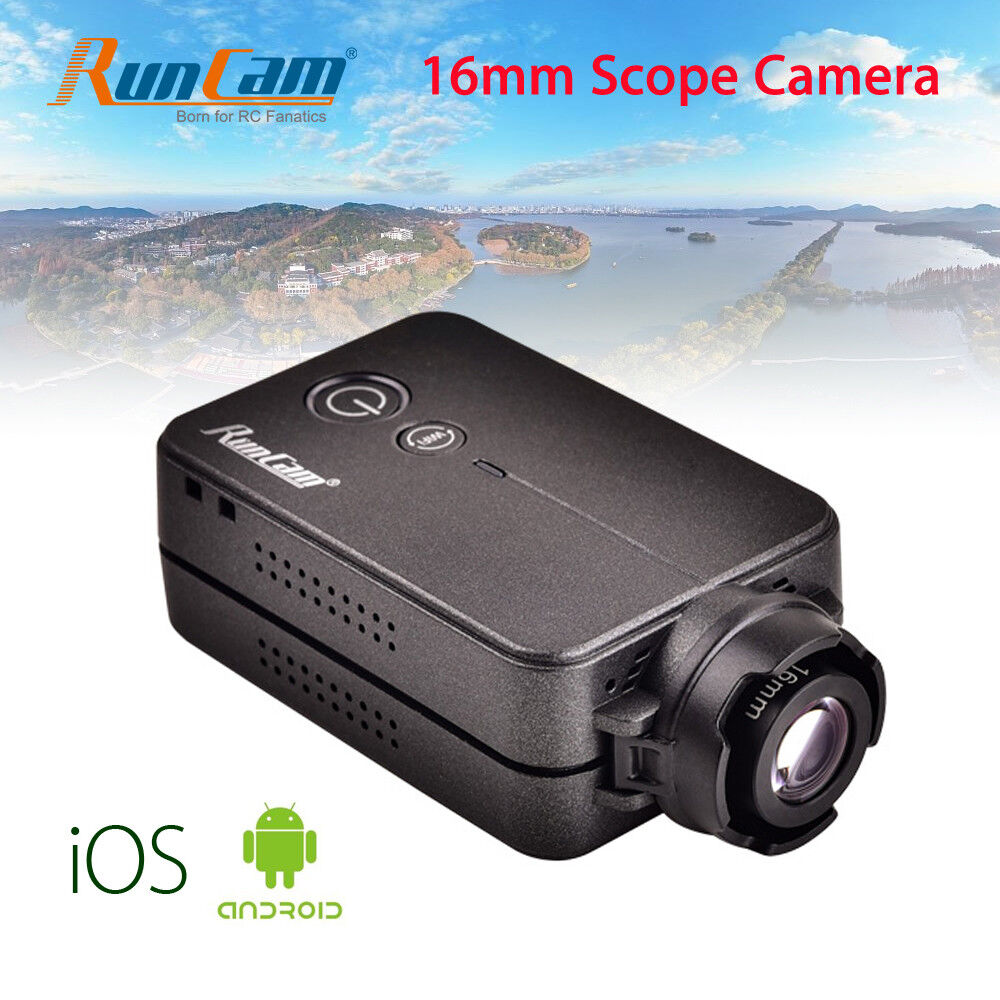 Runcam 2 HD 1080P Wifi Cámara FPV Grabadora alcance 16mm 4MP MICRO USB para carreras