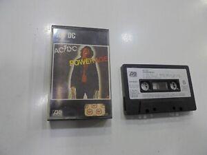 AC/Dc Kassette Spanisch Powerage 1983