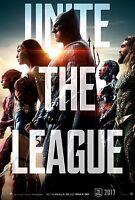 Justice League Movie Poster (24x36) - Gal Gadot, Wonder Woman, Jason Momoa, V8