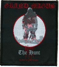Grand Magus The Hunt  Patch/Aufnäher 602156 #