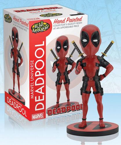 Marvel Classic Deadpool Head Knocker 2018 NECA