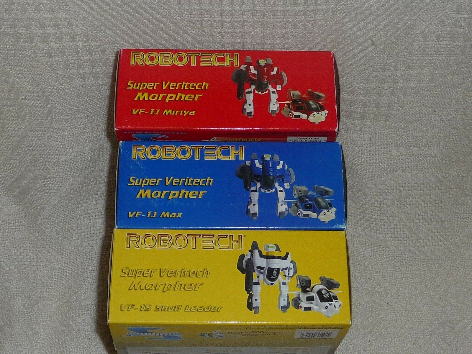 Toynami   Robotech Macross   Super Deformed Deformed Deformed Morpher VF-1 Super Veritechs x3 NEW 8605af