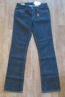 28  J & Company 8 Beverly Womens Jeans Denim $158 Metallic Silver Thread Boot