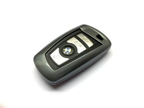 Metallic grey Remote Key Hard Protection Case For BMW 1 3 4 5 X Series 11-16