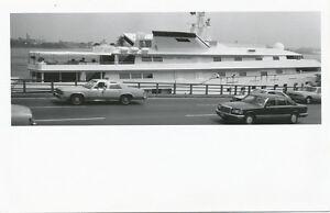 Nyc Ny Trump Princess Yacht In East River Rppc 1988