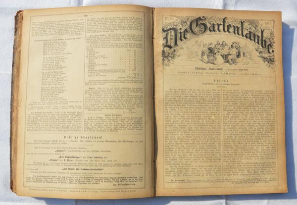 100% Wahr Die Gartenlaube - Illustrirtes Familienblatt 1875 Nr. 27 Bis 52